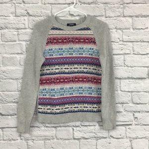 Chaps | fair isle knit sweater